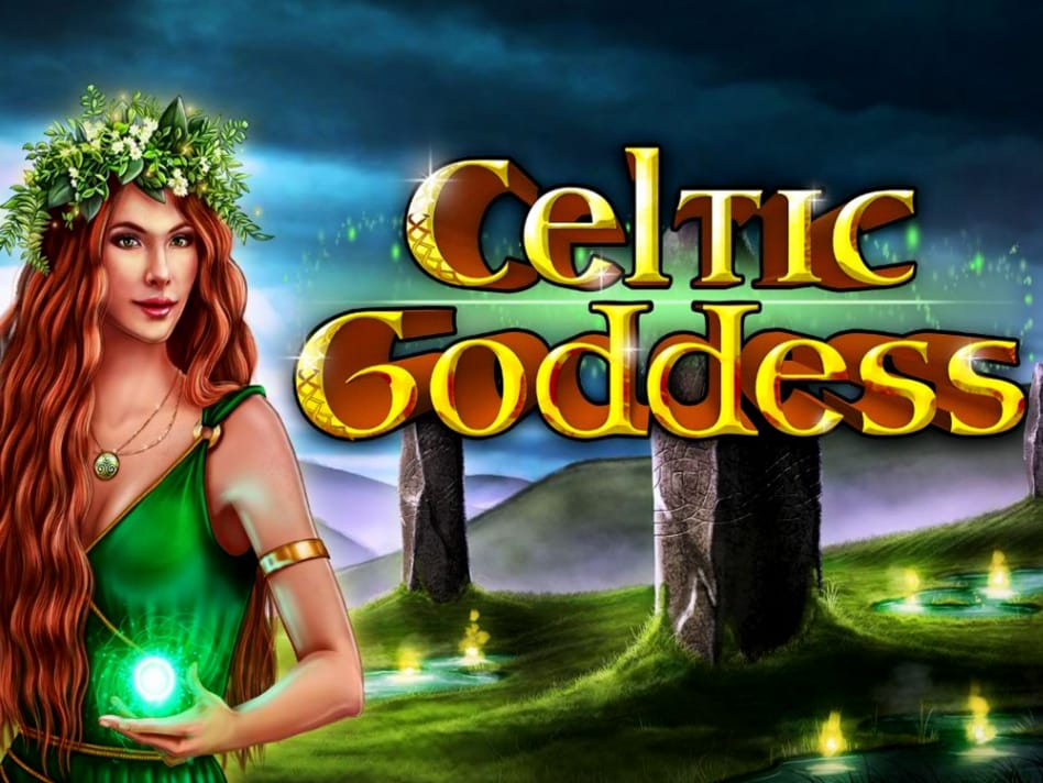 Celtic Goddess Slot Logo