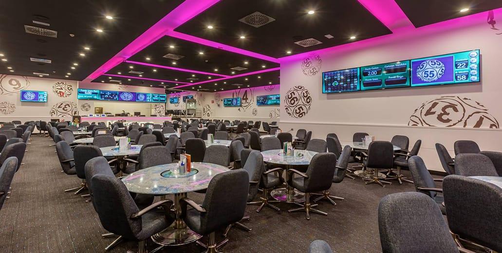 bingo games hall