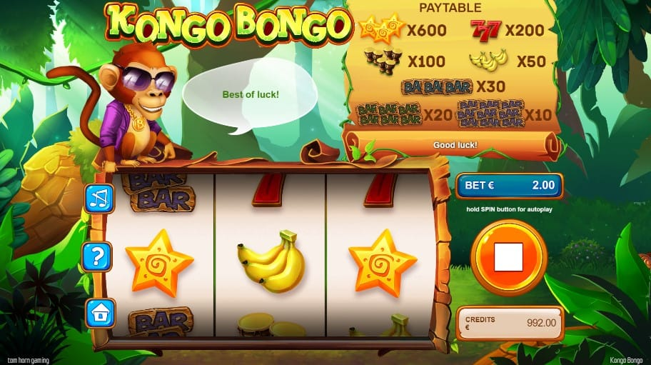 Kongo Bongo Casino Gameplay