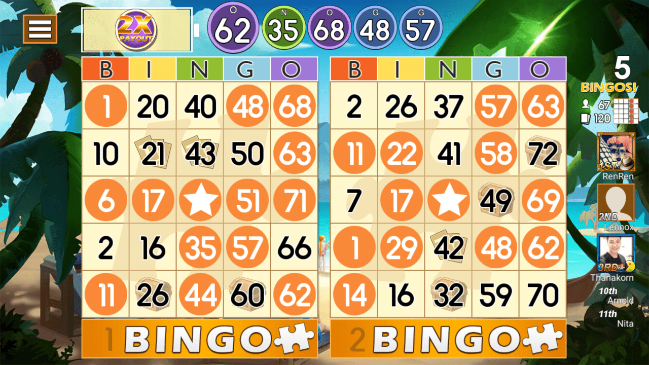 bingo online gameplay