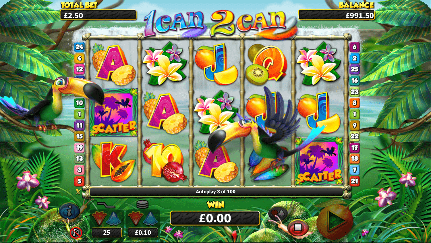 1 Can 2 Can Slot Gameplay