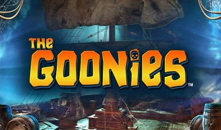 Goonies slot game logo