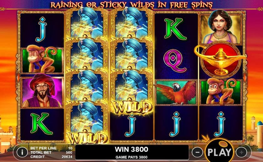 3 genie wishes win slots