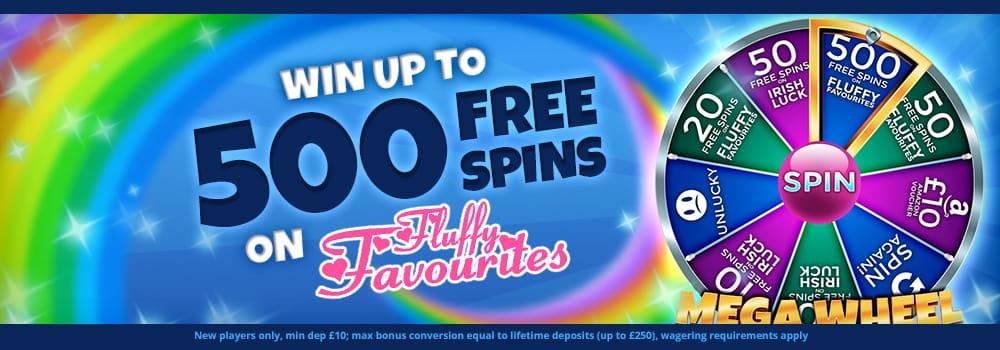 500 free spins - Barbados Bingo