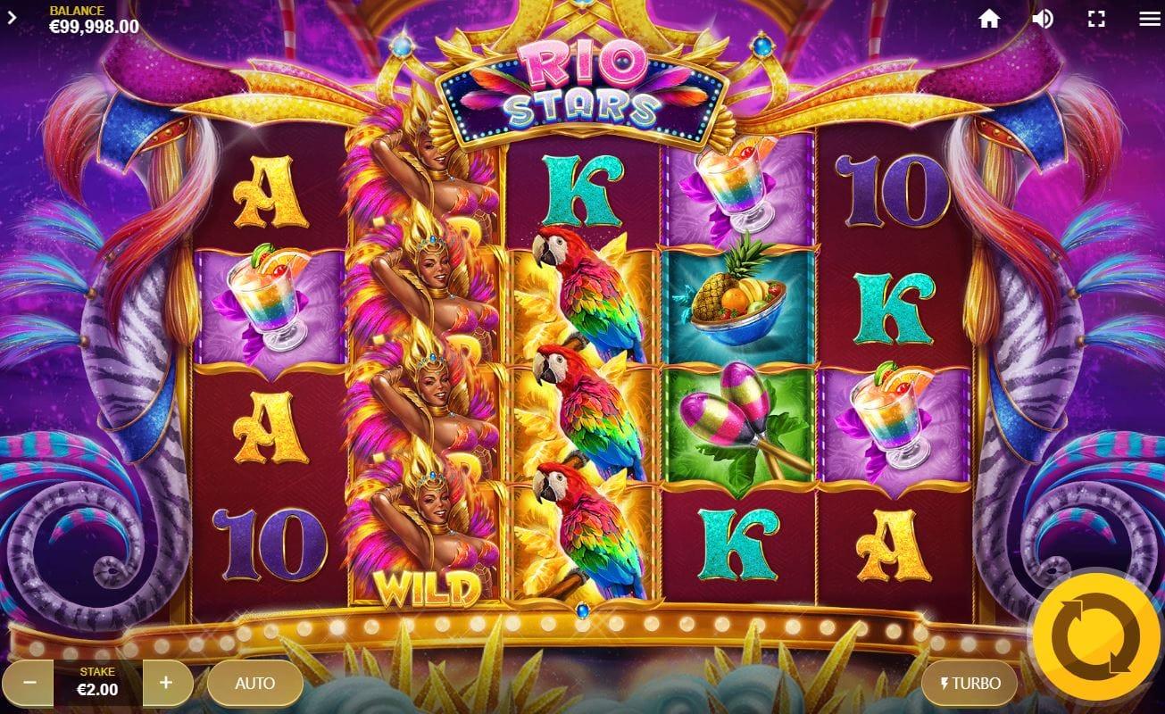 Rio Stars Casino Slots Gameplay