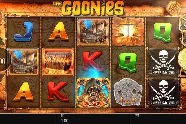 Goonies slot gameplay
