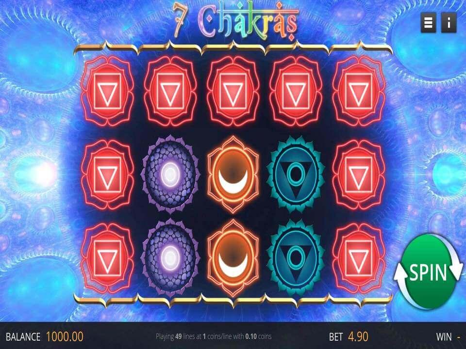 7 Chakras Slot Gameplay