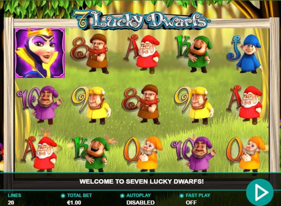 7 Lucky Dwarfs Slot Bonus
