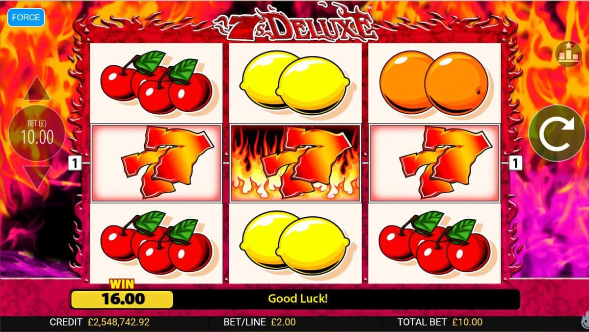 7s Deluxe Slot Bonus
