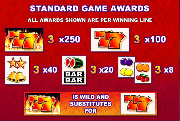 7s to Burn Slot Bonus