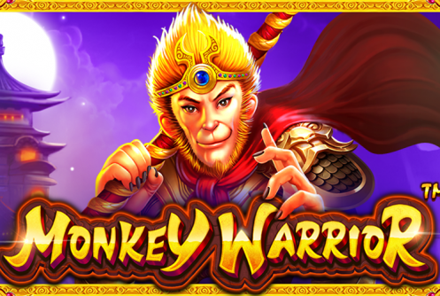 Monkey Warrior Slot Logo
