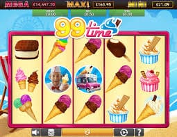 99 Time Jackpot Screenshot