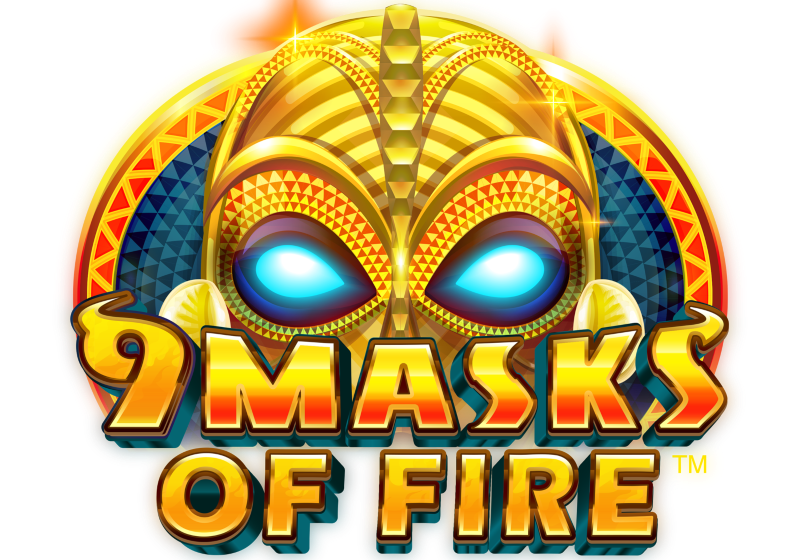 9 Masks of Fire slot game logo