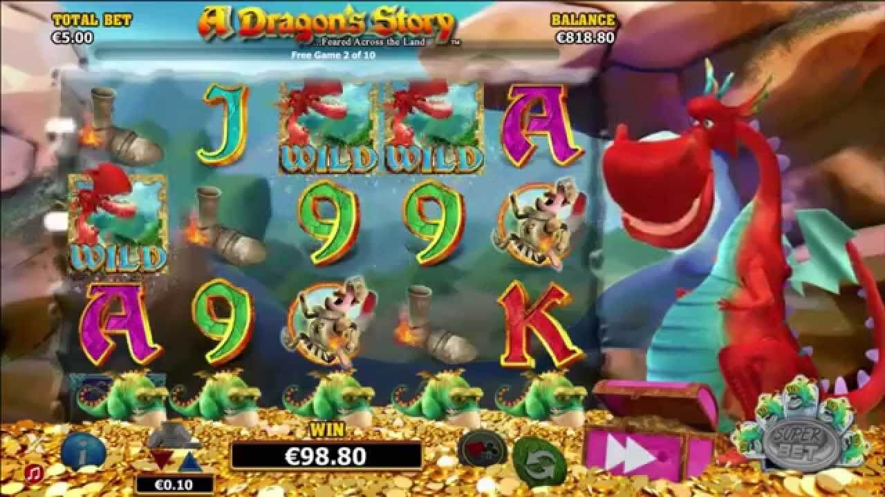 A Dragon Story Slot Gameplay