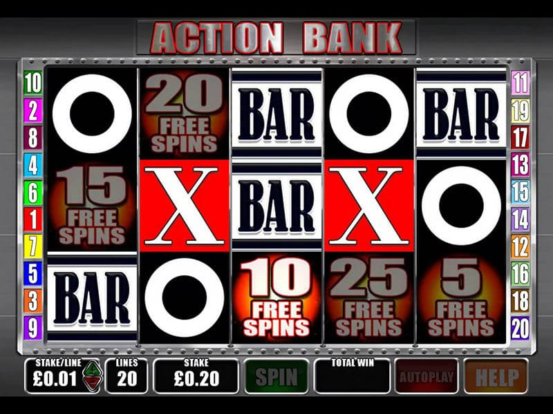 Action Bank Slot Bonus