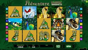 Adventure Palace Slot Bonus