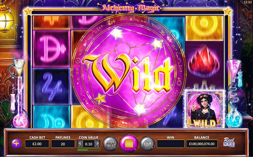 Alchemy Magic Slot Bonus
