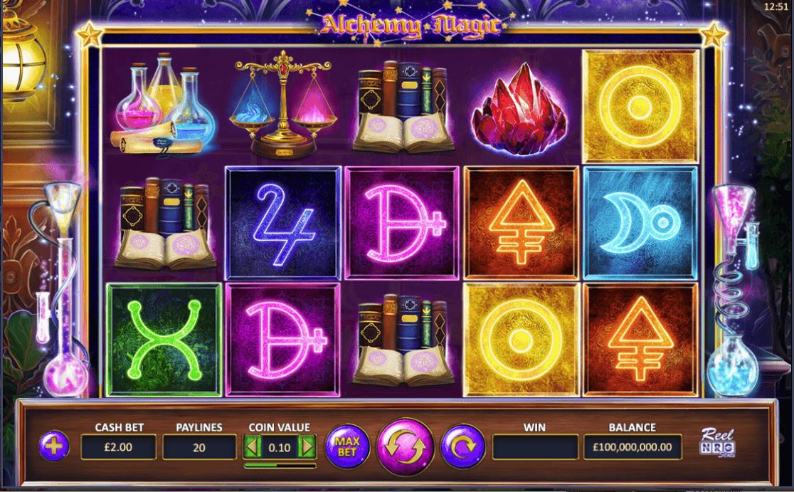 Alchemy Magic Slot Gameplay