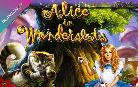 Alice in Wonderslots Review
