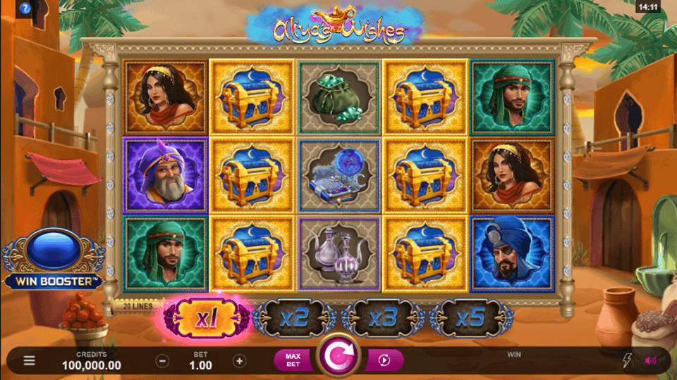 Aliya's Wishes Slot Gameplay