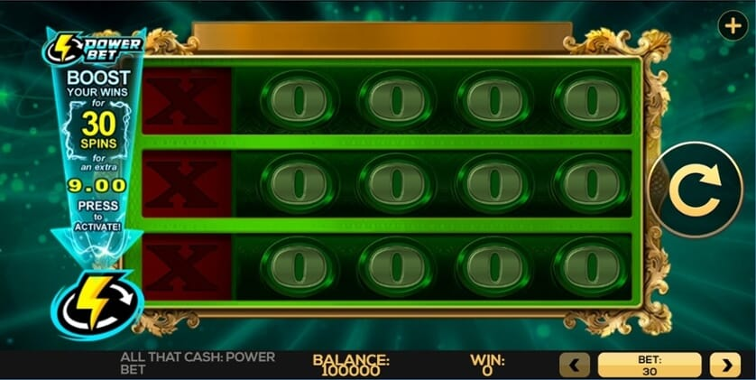 All That Cash Power Bet Slot Gameplay
