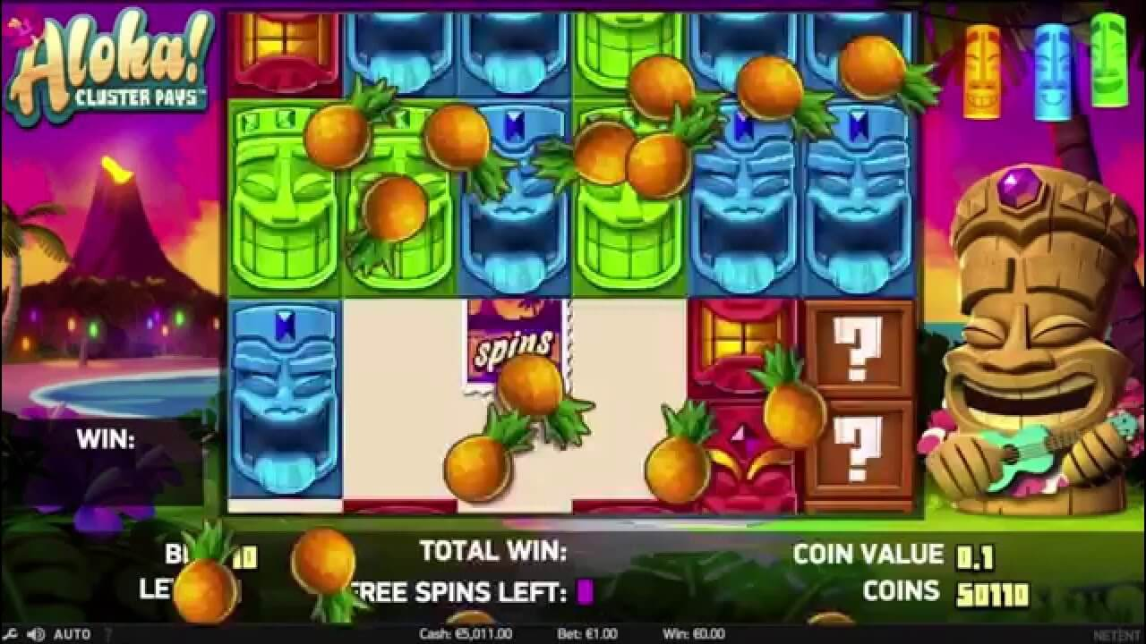 Aloha Slot Gameplay