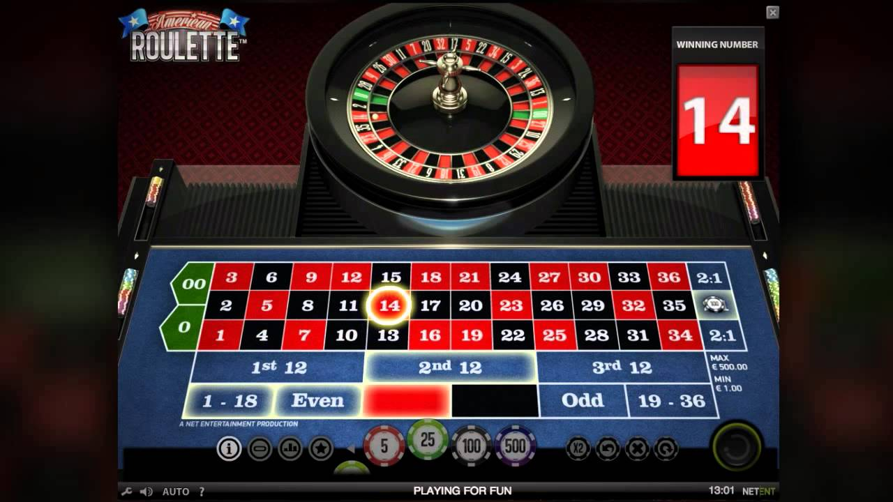 american roulette casino gameplay