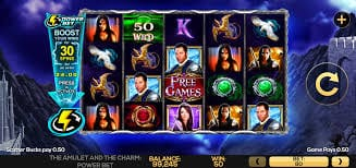 Amulet and the Charm Power Bet Slot Gameplay