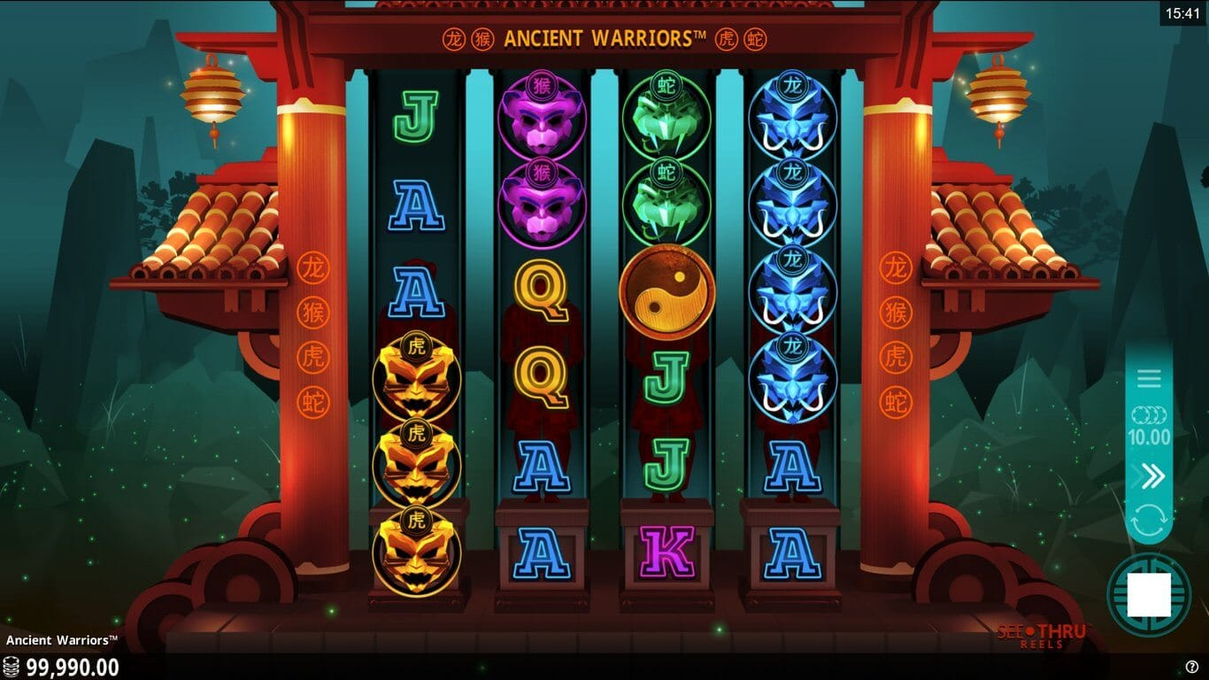 Ancient Warriors Slot Gameplay