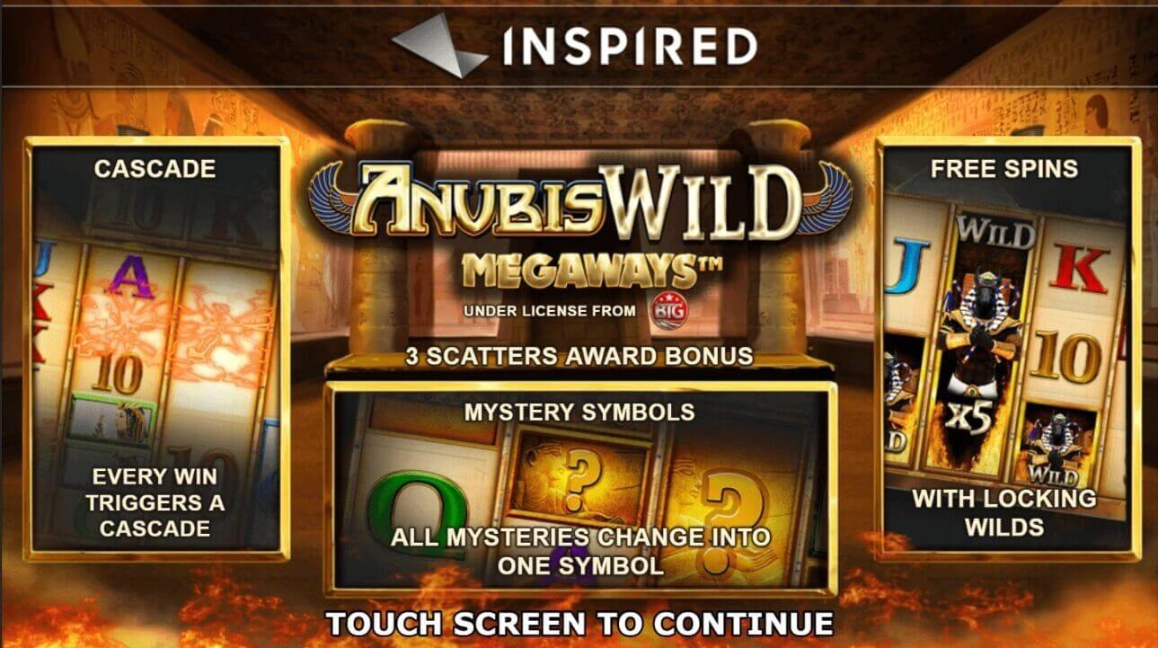 Anubis Wild Megaways Slot Bonus