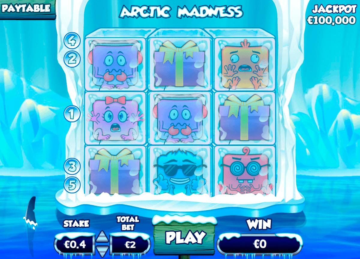 Arctic Madness Slot Bonus