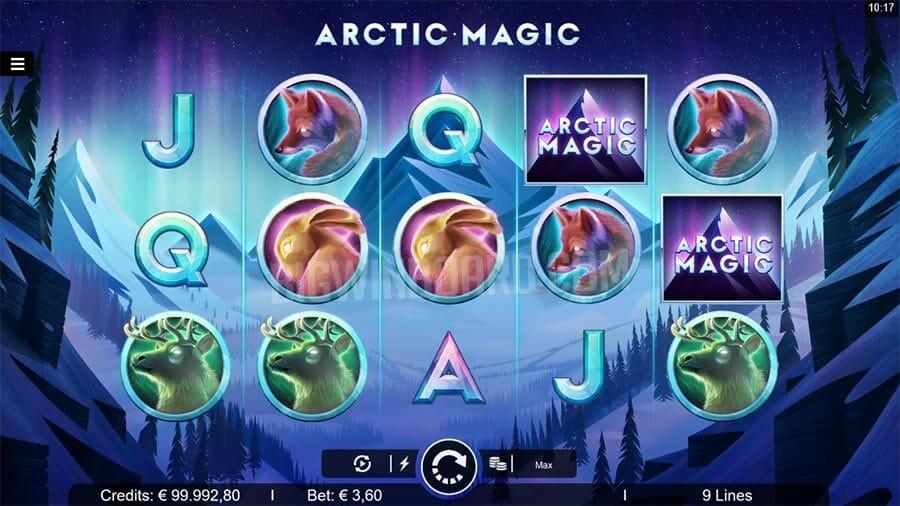Arctic Magic Slot Gameplay