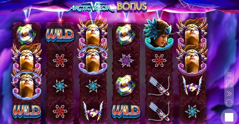 Arctic Valor Slot Bonus