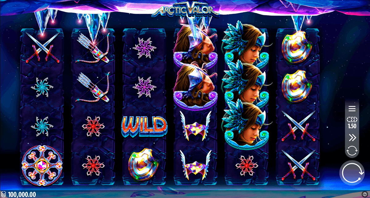 Arctic Valor Slot Gameplay