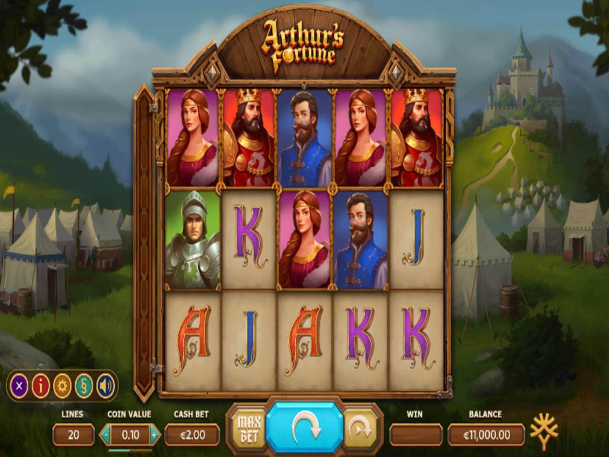 Arthurs Fortune Bonus