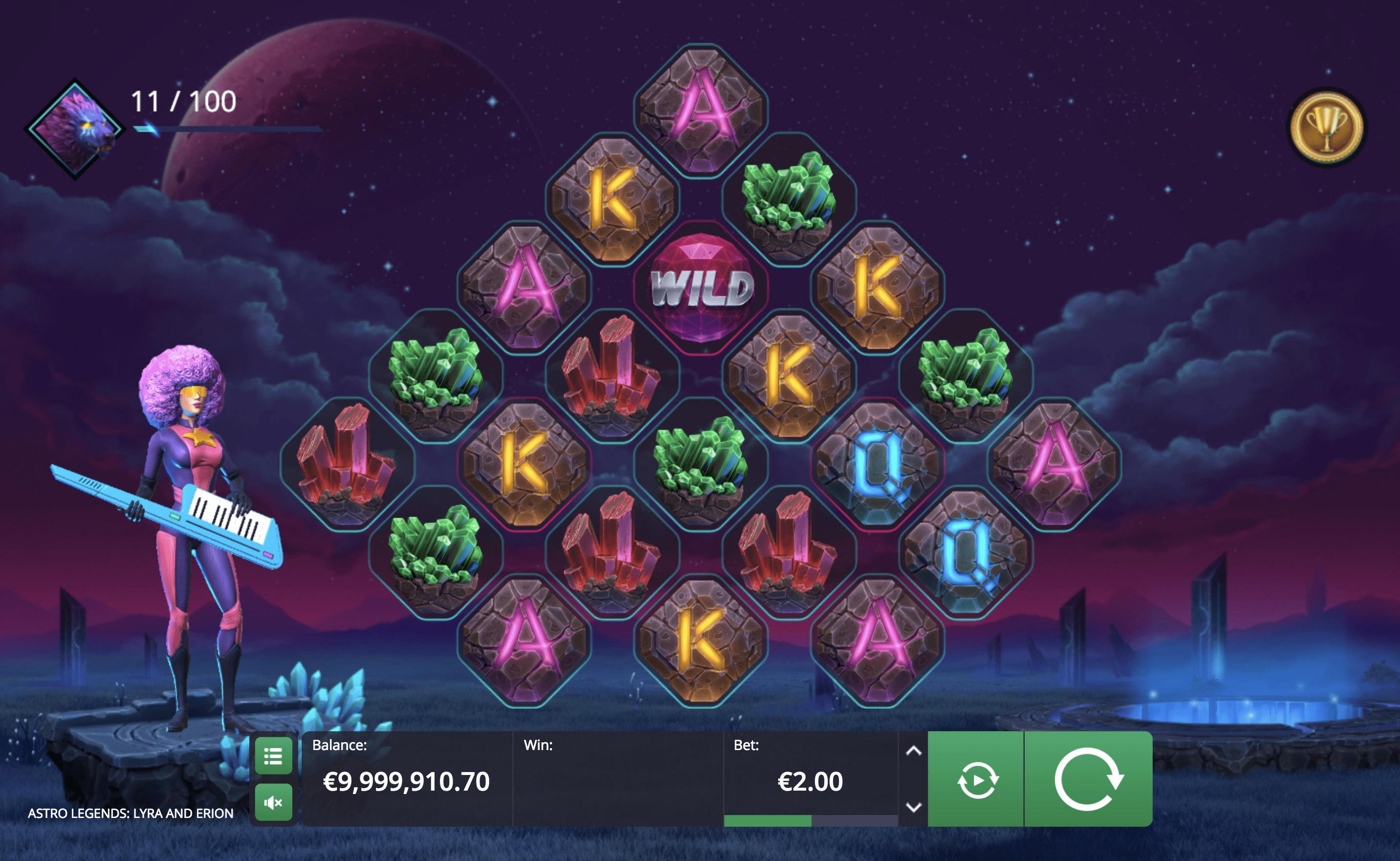 Astro Legends Gameplay