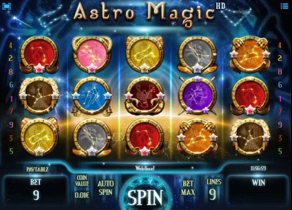 Astro Magic Slot Bonus