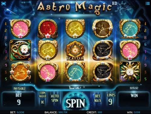 Astro Magic Slot Gameplay