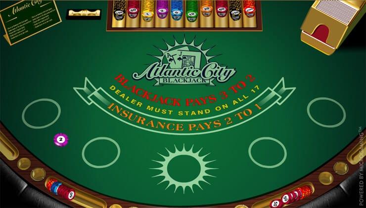Atlantic City Blackjack S Bonus