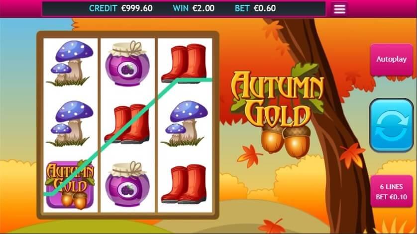 Autumn Gold Slot Bonus