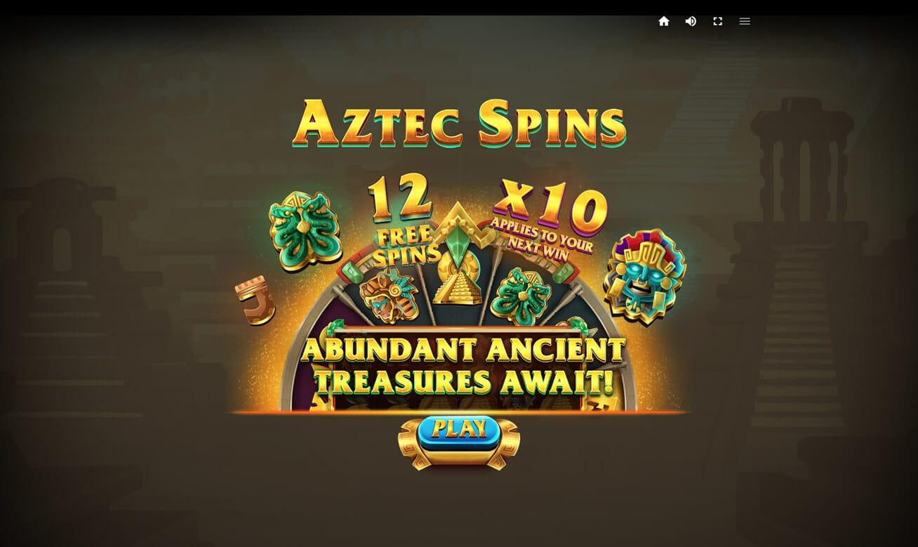 Aztec Spins Slot Bonus