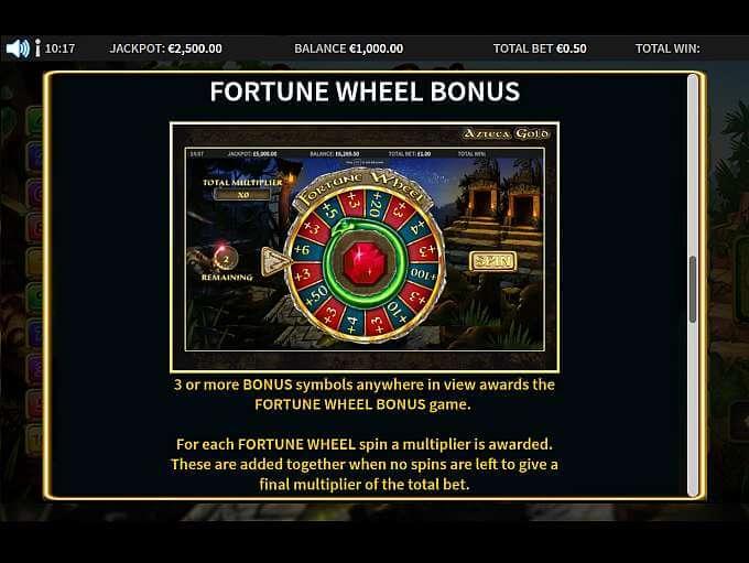 Azteca Gold Bonus