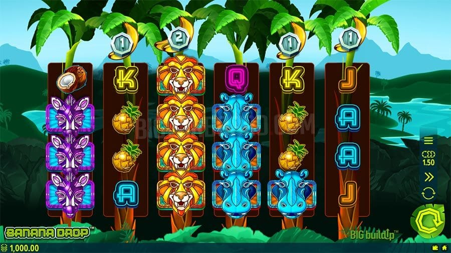 Banana Drop Slot Gameplay