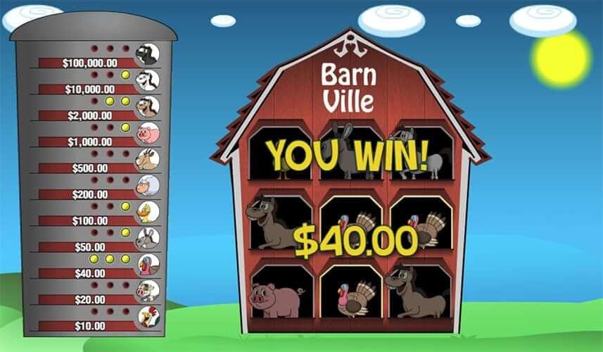 Barn Ville Slot Bonus