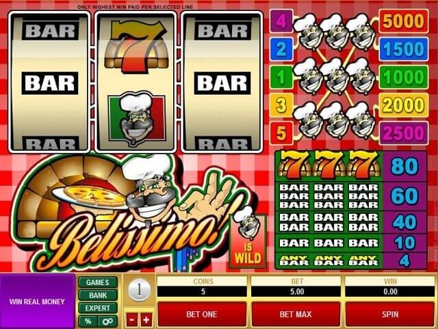 Belissimo Slot Gameplay