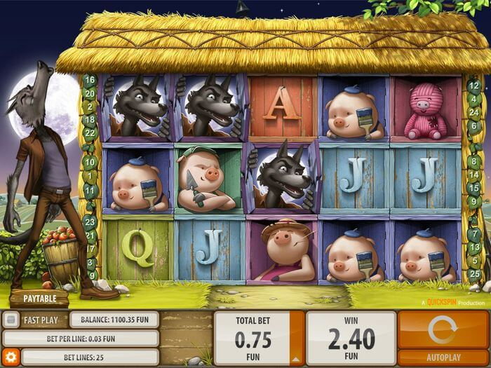 Big Bad Wolf Slot Gameplay