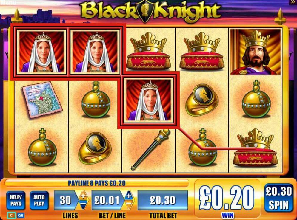 Black Knight Slot Bonus