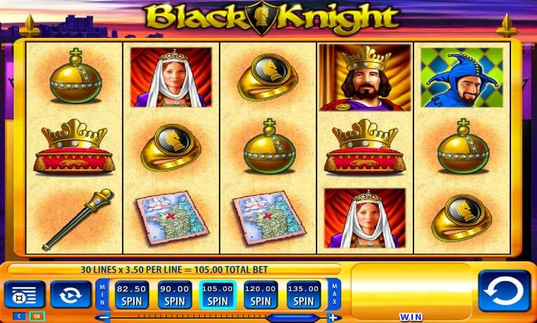 Black Knight Slot Gameplay