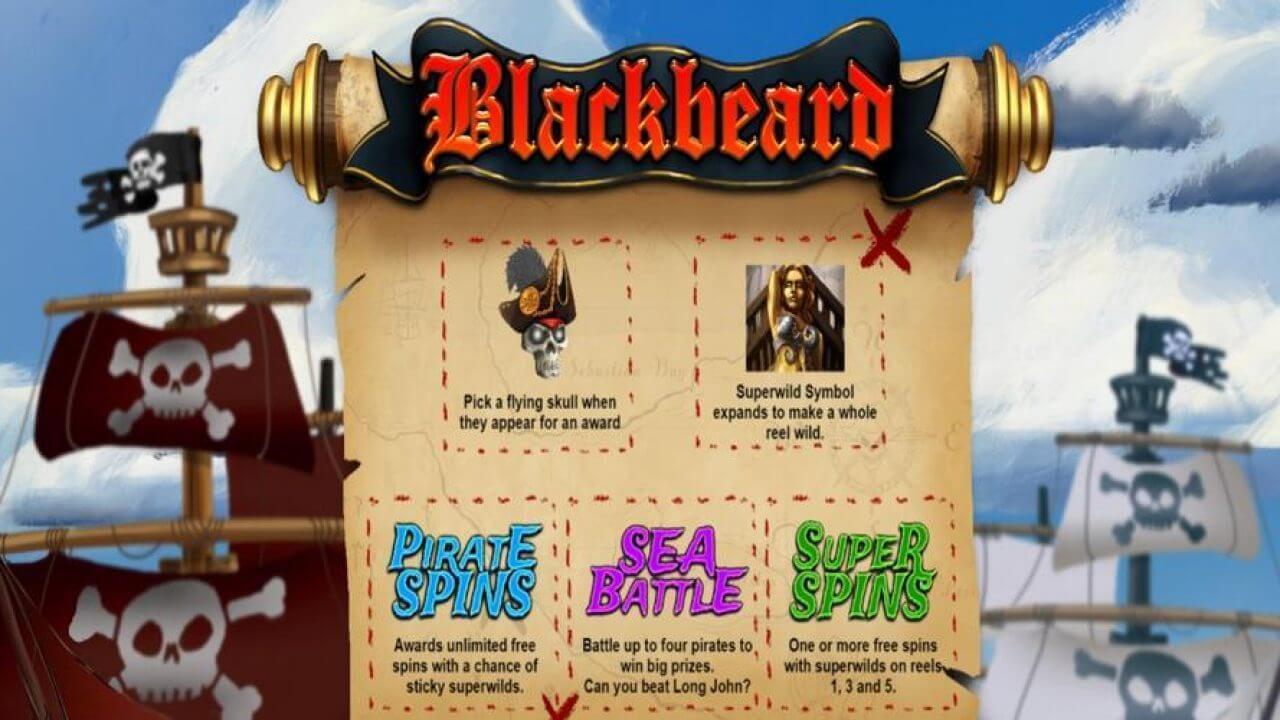 Blackbeard Slot Bonus