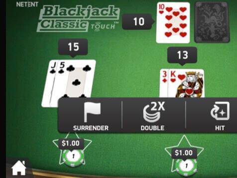 Blackjack Classic Gameplay